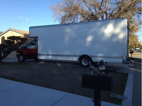 2000 GMC 26 Ft Box Truck